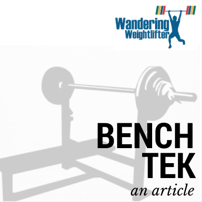 Bench Tek - An Article